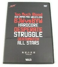 BIG JAPAN PRO-WRESTLING HARDCORE DETH MATCH DVD BJW BYW
