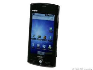 Kyocera Zio M6000 - Black (Cricket) Smartphone