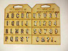 Juegos De Guerra Marina Guardia espacio Imperial de Guerra Militar Alfabeto Snappy esténcil # 24a/b