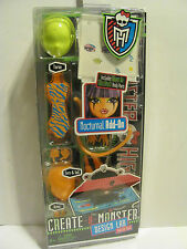Monster High Nocturnall Design Lab Add On Pack    *** New***