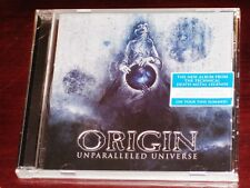Origin: Unparalleled Universe CD 2017 Nuclear Blast Records USA NB 4064-2 NEW