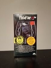 Friday The 13th New Sealed VHS! Horror