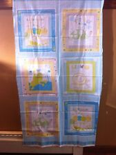 """Scribbles Turtle"" Windham Fabrics Kid Baby Craft Panel Fabric, caterpillar frog"