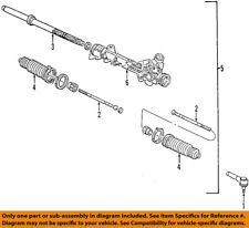 FORD OEM Steering Gear-Outer Tie Rod End 5L5Z3A130AA