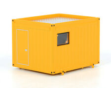 BALLAST TRAILER 10FT CONTAINER YELLOW 1/50 DIECAST MODEL BY WSI MODELS 04-1008