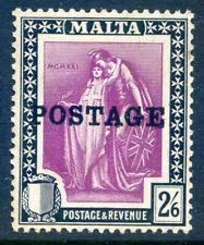 Malta 1926 Postage Overprint 2sh 6d unmounted mint SG 154 (2019/06/17#04)