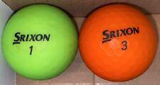 New listing Srixon Soft Feel Neon Golf Balls
