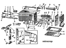 Hydraulic Touch Control Unit Block Rebuild Shop Manual IH Farmall Cub & Lo-Boy