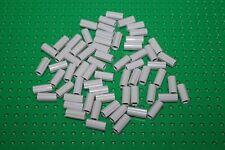 Lego 6538c, 65x Hülsen Verbinder Kreuz Connector axle hellgrau grey