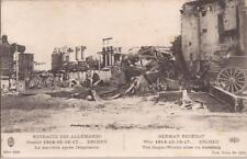CPA GUERRE DE 1914.18.ERCHEU LA SUCRERIE APRES L EXPLOSION .TBE