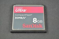 Sandisk Ultra 8GB 30MB/S  Compact Memory Flash CF Card  DH9196