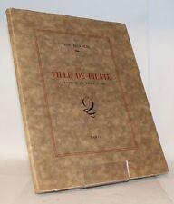 FAUCHOIS La Fille de Pilate Tragédie en trois actes lettre Maurice Louvrier 1946