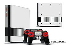 Skin Decal Wrap For PS4 Slim Playstation 4 SLIM Console + Controller Stickers CT