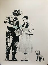 RARE West Country Prince Limited Edition 1/500 BANKSY - STOP AND SEARCH