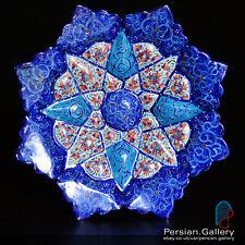 Esfahan artigianato-minakari PIASTRA (بشقاب میناکاری) - Taglia 16cm