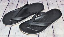 Crocs Retro Flip Flop Sandals ~ Black Gray White