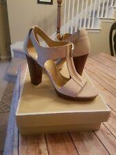 New in the Box MICHAEL Michael Kors Berkeley Dress Sandals sz  US 10M CHAMPAGNE
