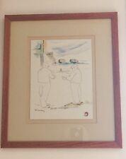 Rodolfo Candelaria Work. Original de 26 x 20 cms.