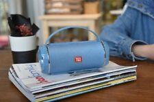 T&G TG-116C Splashproof Portable Bluetooth Speaker - Blue