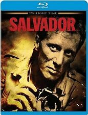 Salvador Blu Ray (james Woods)all Regions Twilight Time Registered Post