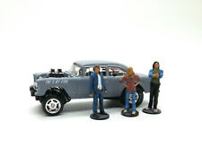 1/64 Two Lane Blacktop Driver Mechanic Hichhiker Girl Figure's Unfinish Custom