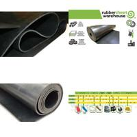 """.125/"""" 12/"""" x 18/"""" Silicone Rubber Sheets 60A Medium Hardness"""