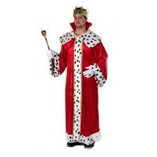 Hochwertiger pompöser roter Königsmantel Prinz Mantel Kostüm König