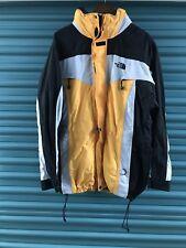 Men's Vintage 90's North Face Gore Tex Ski Jacket and Vest- Yellow L