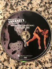 BEACHBODY Insanity Workout MAX CARDIO CONDITIONING & CARDIO ABS DVD Disc