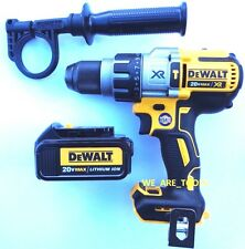 "New DeWalt DCD996 20V Brushless 1/2"" Hammer Drill, (1) DCB200 Battery 20 Volt"