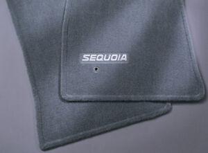 Toyota Sequoia 2005 - 2007 Gray Carpet Floor Mats - OEM NEW!