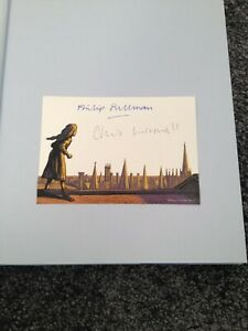 PHILIP PULLMAN: NORTHERN LIGHTS: DUAL SIGNED ILLUSTRATED UK FIRST EDITION