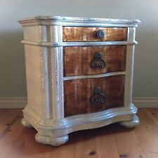 White Nightstand, Bedside Table, Storage Table, Shabby Chic, White Side Table