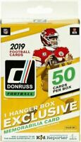 2019 PANINI DONRUSS FOOTBALL FACTORY SEALED 50-CARD HANGER BOX IN STOCK