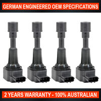 4x OEM Quality Ignition Coil for Mazda 2 DY 1.5L 2005-2007