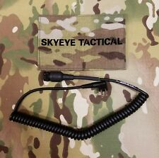 SKYEYE Tactical NACRE QUIETPRO Motorola 2 Pin Type Radio Cable. AOR LBT