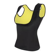 Men Women Neoprene Slimming Vest Cami Hot Shapers Gym Body Sauna Sweat Corset US