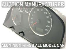 VW Transporter T5 Sport 03-10 Chrome Cluster Gauge Dashboard Rings Speedo Trim