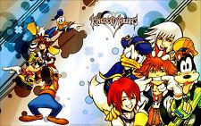Kingdom Hearts - Beautiful Art  Huge Poster  22 x 34 ( Fast Shipping ) 0108