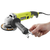 Ryobi 6.5 Amp 4.5 in. Angle Grinder ZRAG454 Reconditioned