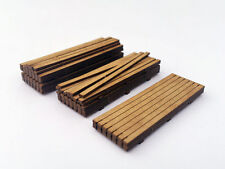LASER CUT TIMBER LOAD FOR OO GAUGE 1:76 SCALE MODEL RAILWAY DIECAST LX111-OO