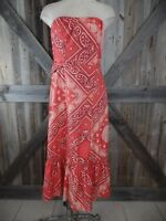 1ec57322ce12 Holding Horses Womens 2 Orange Bandana West Stable Midi Anthropologie Dress