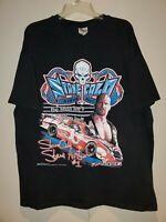 Vintage 2000 Stone Cold Steve Austin WWF Racing T-Shirt XL Rattlesnake 90s WWE