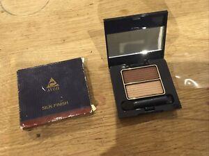 Avon Silk Finish Eyeshadow Duo MOLTEN BRONZE/TOPAZE Discontinued Rare