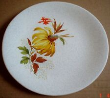 Grindley Small Side Plate Grey Speckled With Yellow Flower Leaves