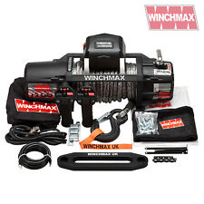 ELECTRIC WINCH 12V 4x4 13500 lb SL WINCHMAX DYNEEMA MIL SPEC - WIRELESS