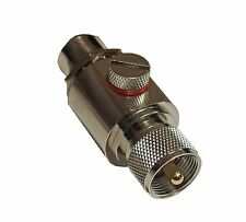 High Quality In-Line Coaxial Lightning Arrestor with UHF Connectors Male Female