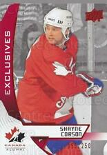 2019-20 Upper Deck Team Canada Exclusives #91 Shayne Corson