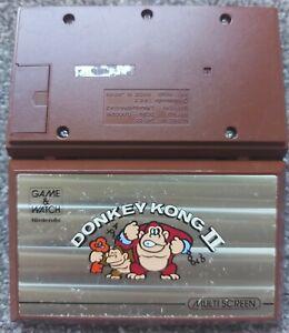 NINTENDO GAME & WATCH DONKEY KONG 2 JR-55 WORKING ORDER