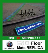 BMW ALPINA B10 E39 LHD Floor mats Replica fußmatten ANTHRAZIT Quality Velour B10